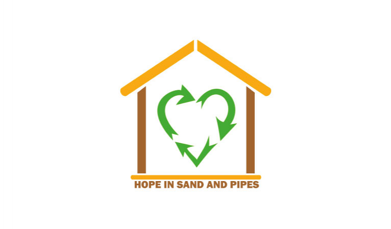 Hope in sand and pipes